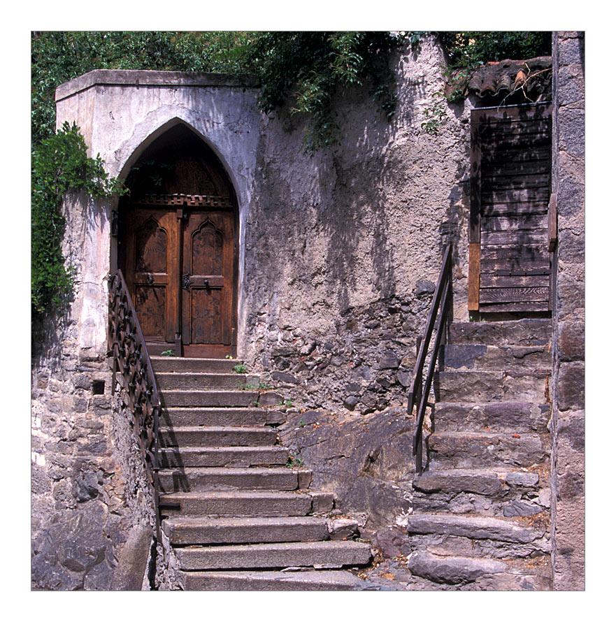 Zwei Türen in Meran ...