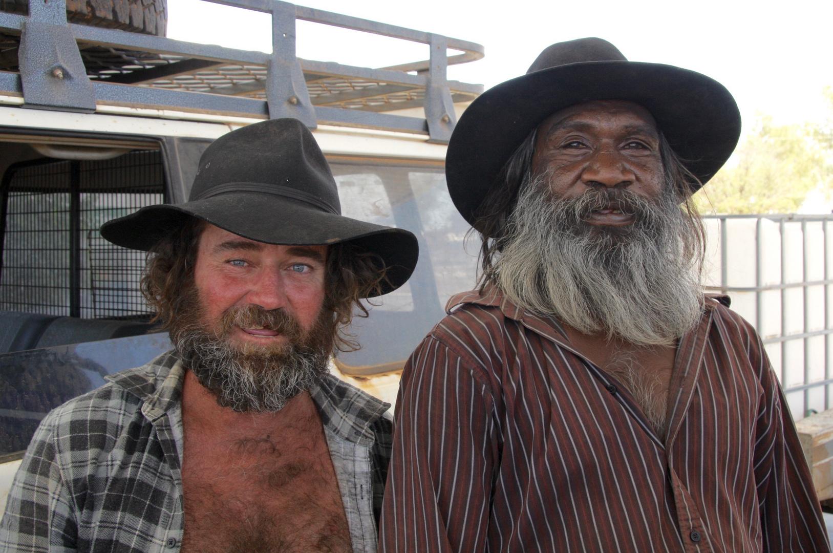 ... zwei wilde Farmergehilfen ...
