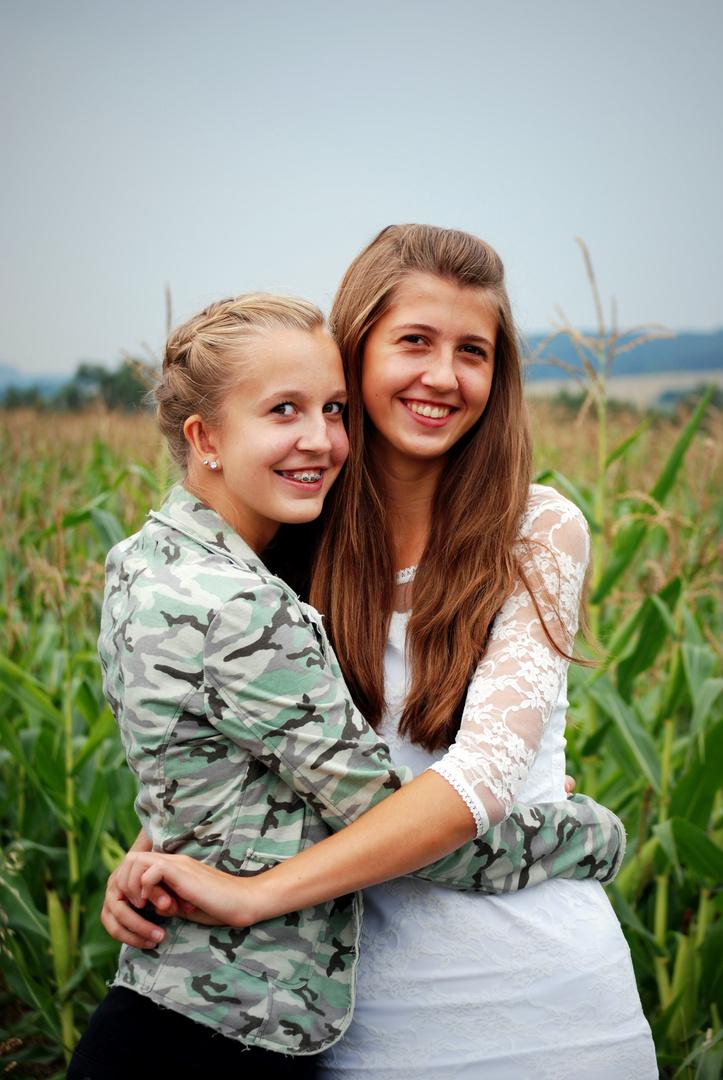 Zwei zauberhafte Schwestern