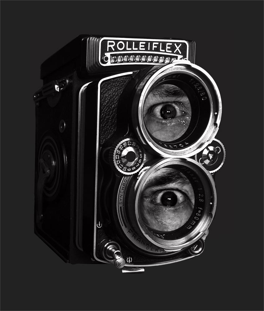Zweiäugige Spiegelreflexkamera !