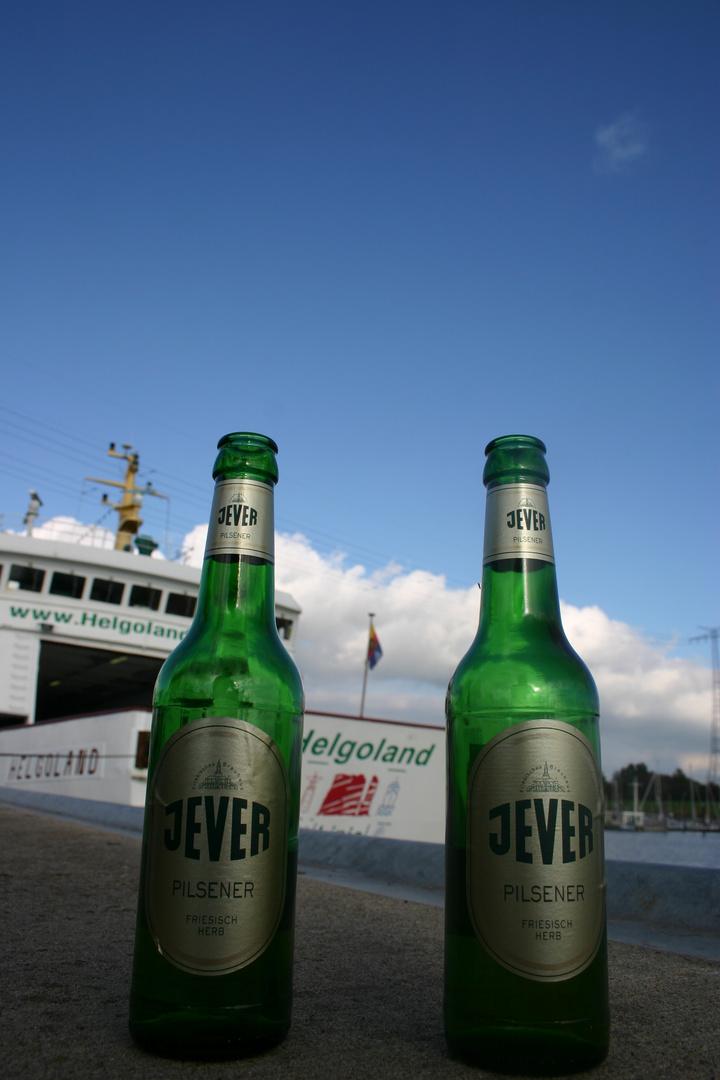 Zweisamkeit am Außenhafen