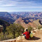 Zweisamkeit am Grand Canyon