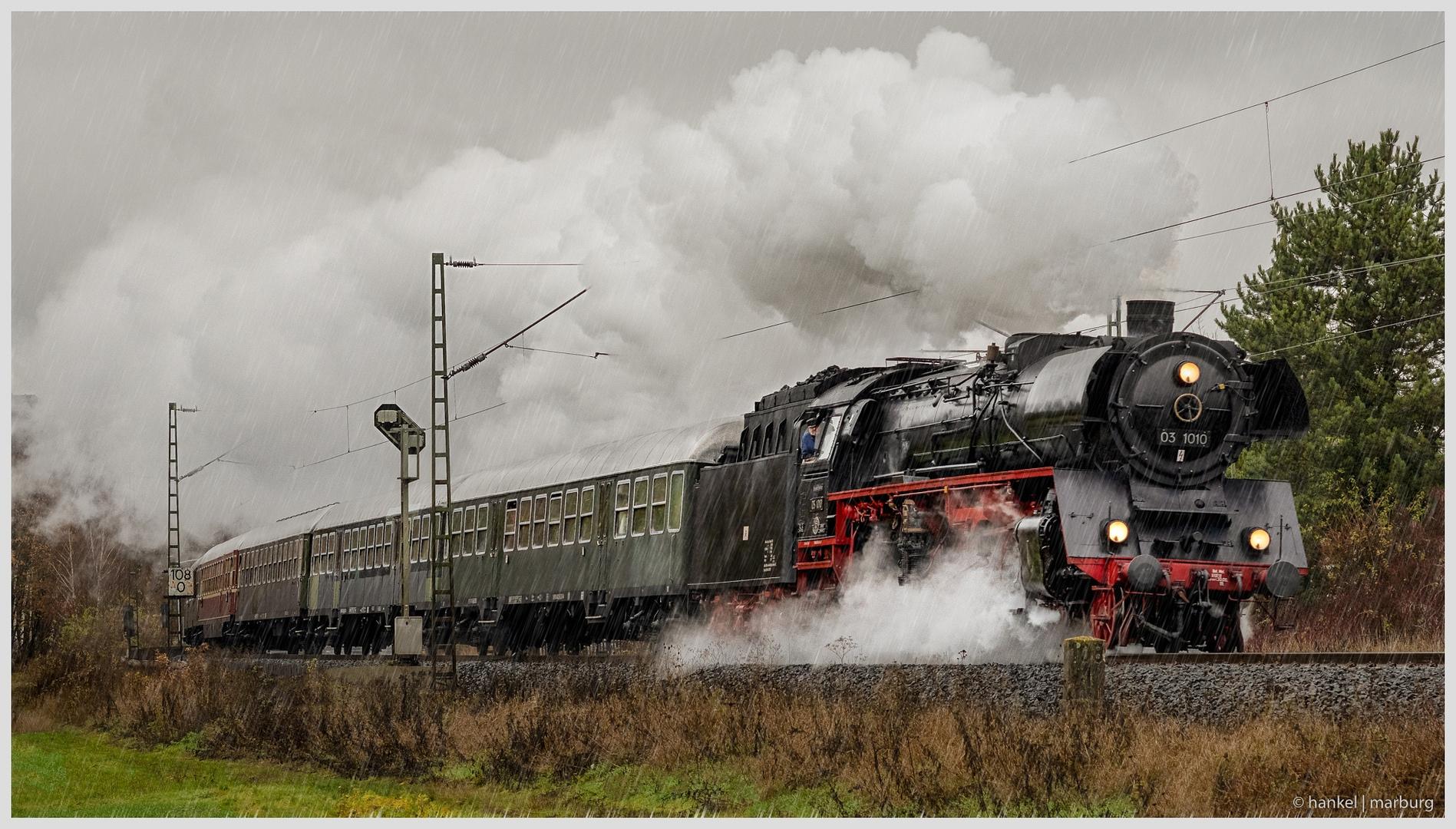 Zweite Nikolausfahrt der Eisenbahnfreunde Treysa e.V