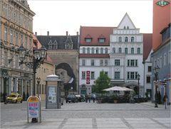 Zwickau - Abends am Hauptmarkt