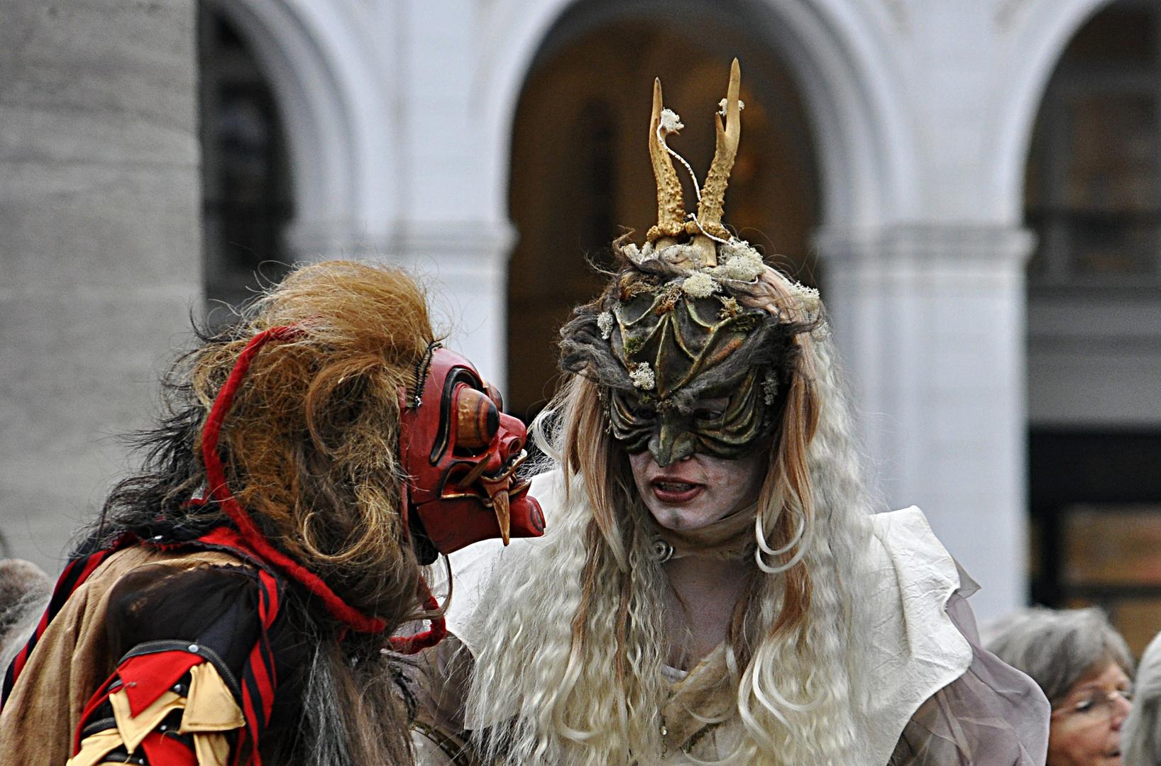 Zwiegespräch - Venizianischer Maskenzauber
