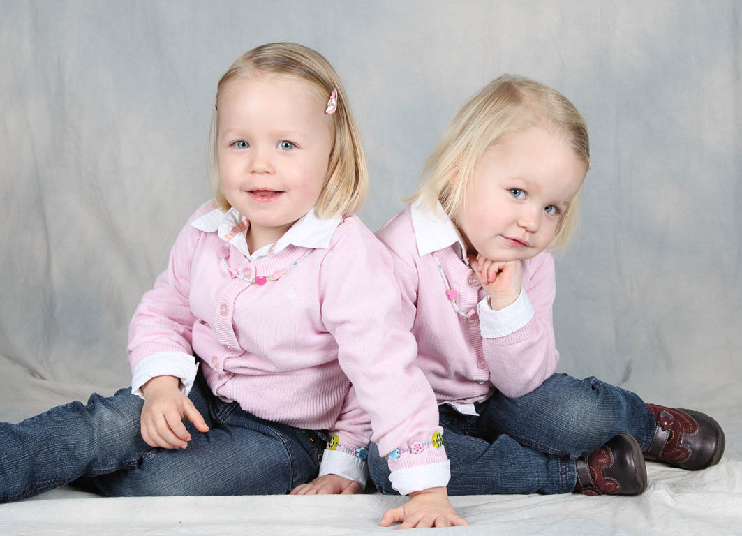 Zwillinge Mädchen Junge
