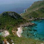 Zwillingsbucht bei Agios Georgios auf Corfu