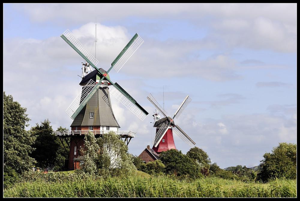 Zwillingsmühlen Greetsiel