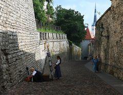 Zwischen den Mauern von Tallinn