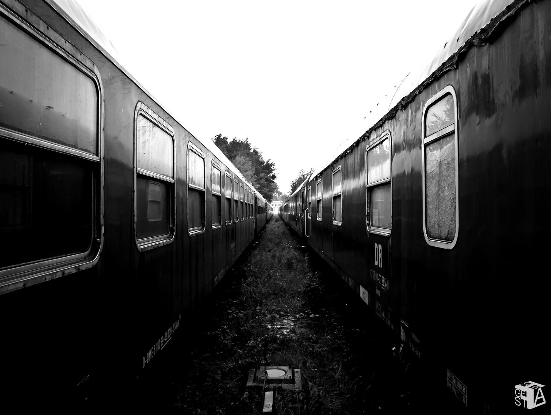 Zwischen den Zügen