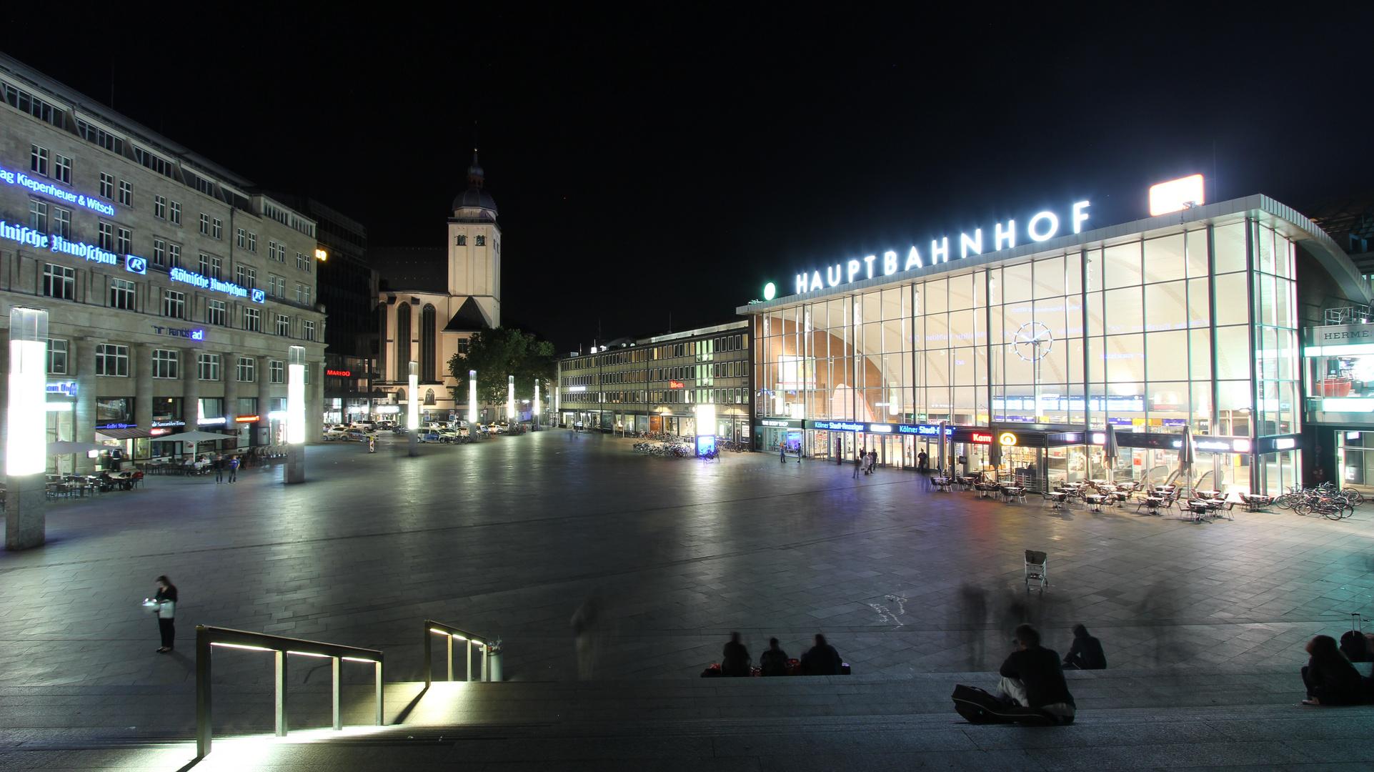 Zwischen Dom und Hauptbahnhof
