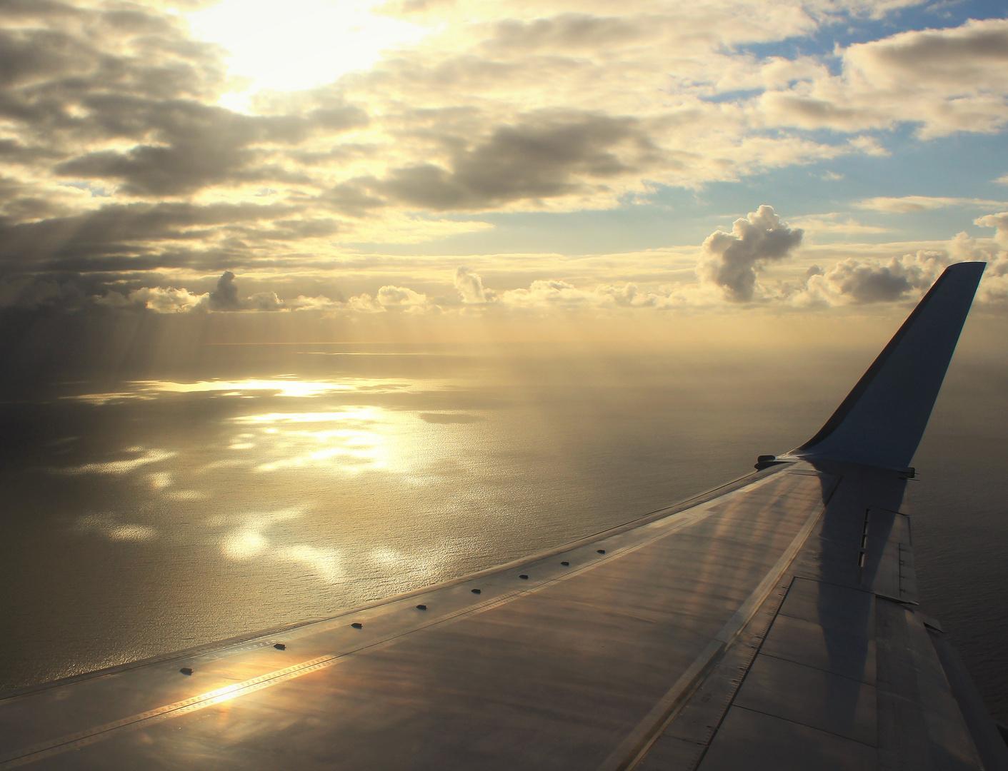 Zwischen Himmel und Wasser