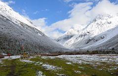 Zwischen Samagaon und Samdo auf dem Manaslu-Trek