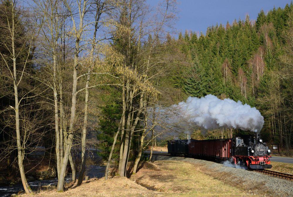 Zwischen Steinbach und Schmalzgrube ...