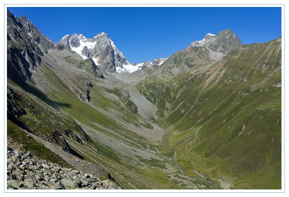 Zwischen Wazespitze und Verpeilspitze