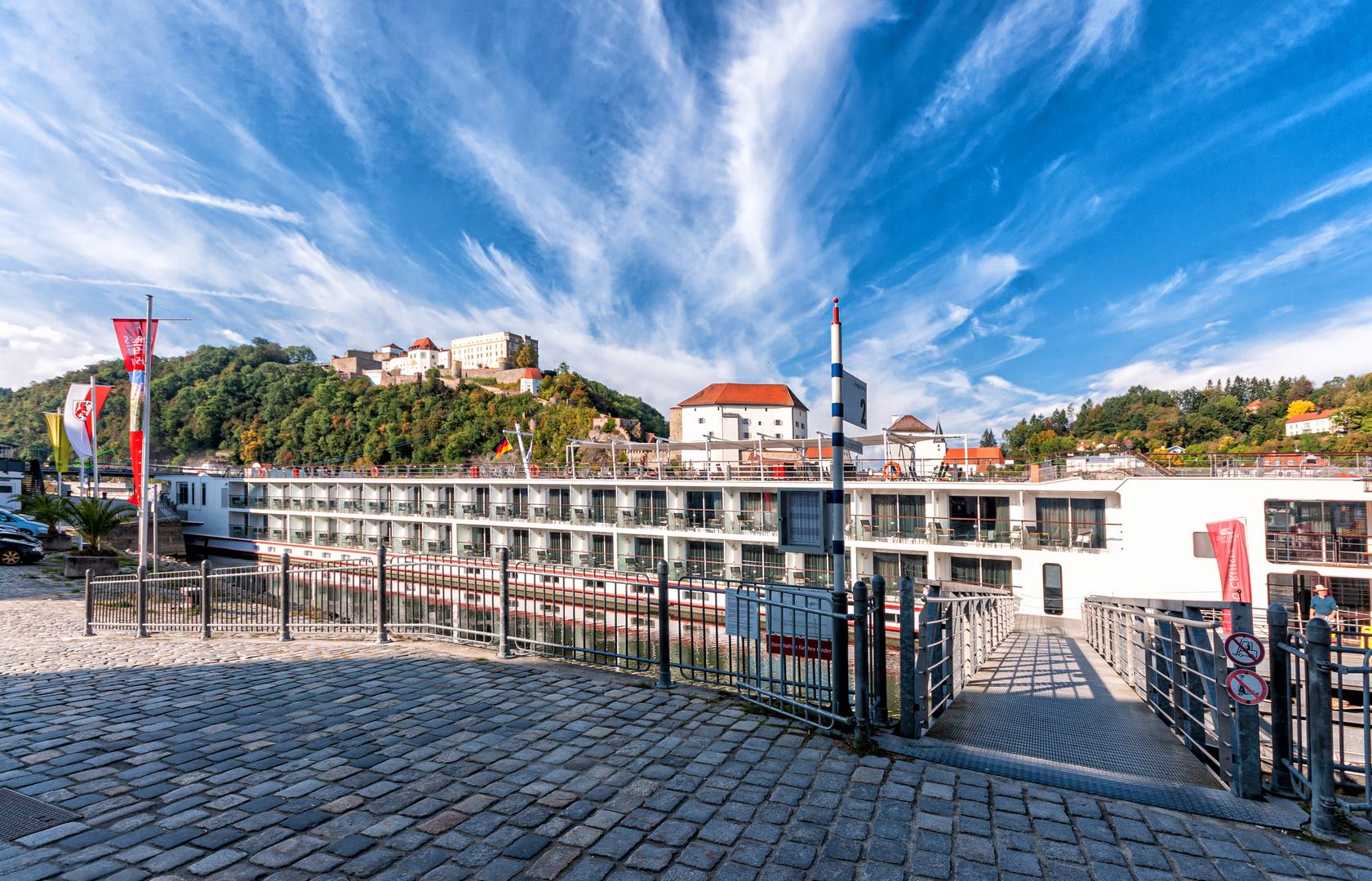 Zwischenstopp: Passau