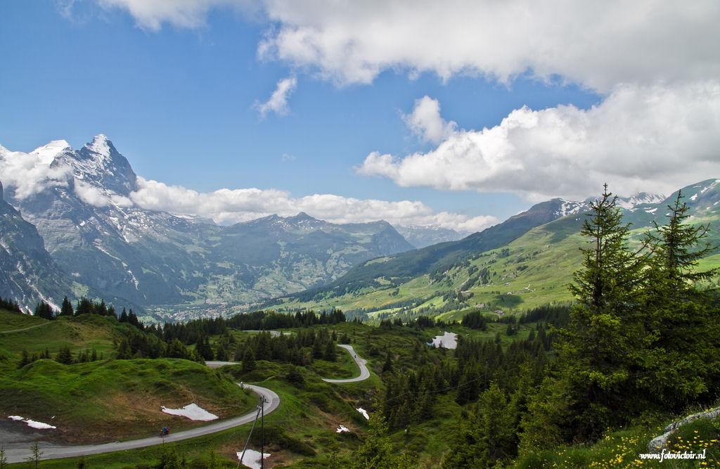 Zwitserland Grote Scheidegg www.fotovictoir.nl