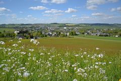 Zwönitz im Frühling