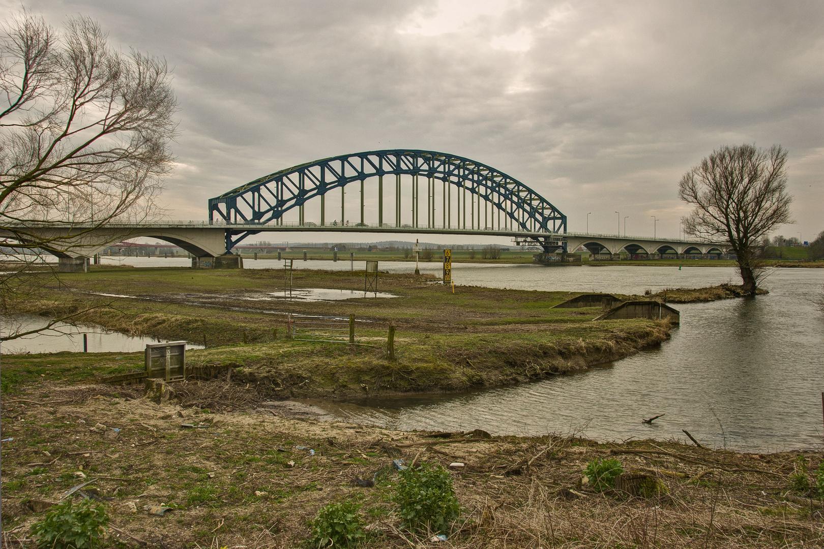 Zwolle - Ijsselbrug (Bridge over Ijssel River) - 01