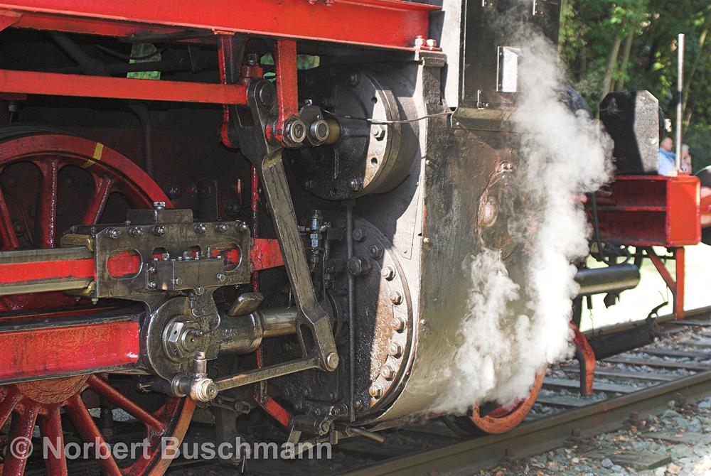 Zylinder einer Dampflock