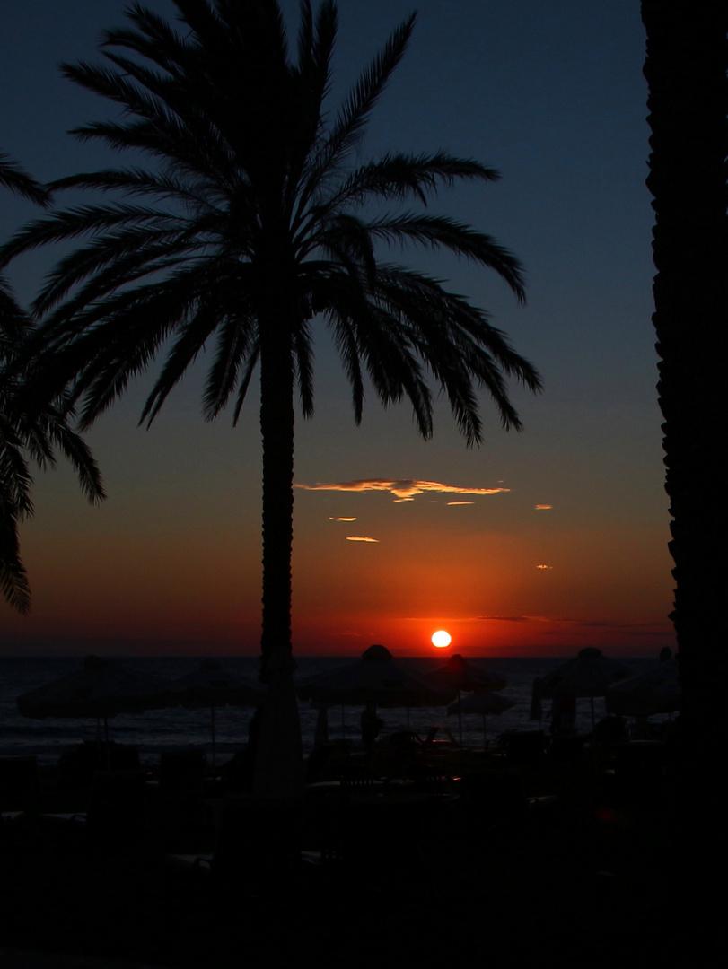 Zypern - der Tag klingt aus