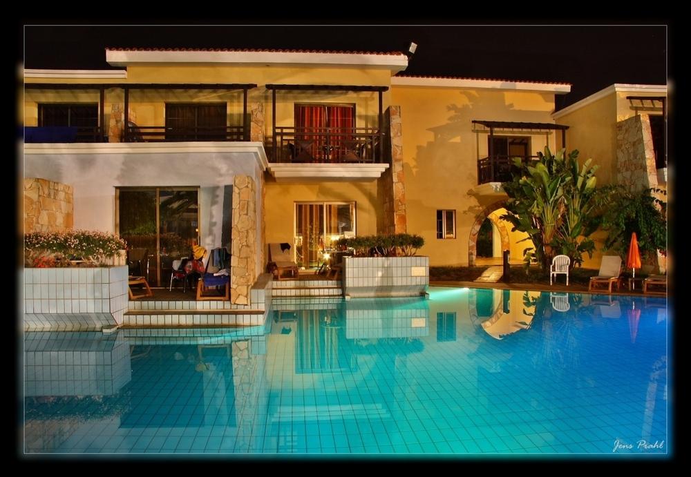 Zypern im Hotel Atlantica Aeneas -  Nachts