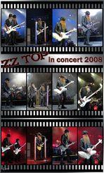 ZZ TOP in concert
